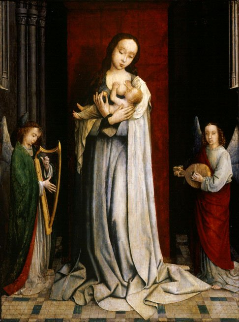 Madonna-and-child-with-two-music-making-angels